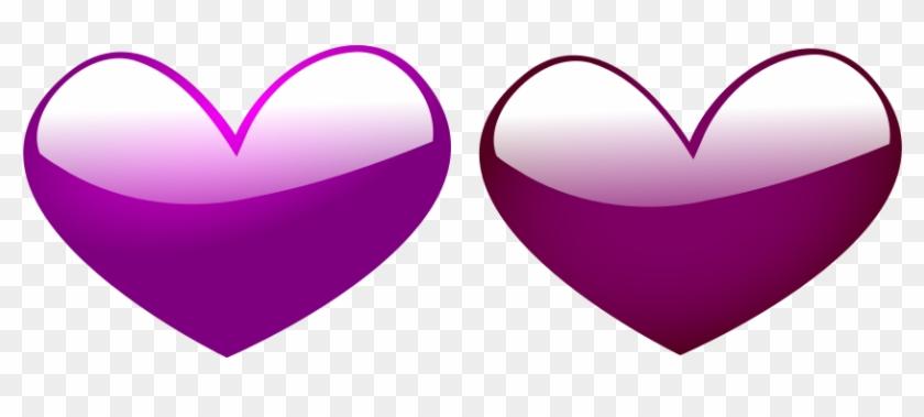 Heart Pink 3 Clipart, Vector Clip Art Online, Royalty - Clipart Vector Pink Heart #102879