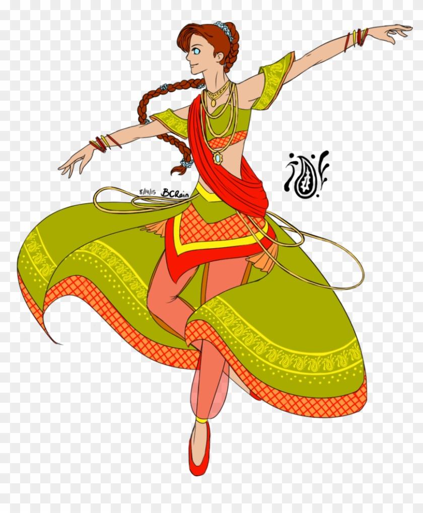 Indian Dance Clipart Png - Indian Dance Logo Clip Art #102881