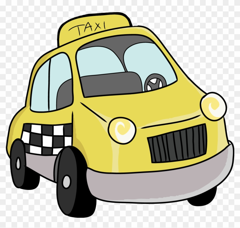 Free To Use Public Domain Cars Clip Art - Taxi Clipart Transparent #102960