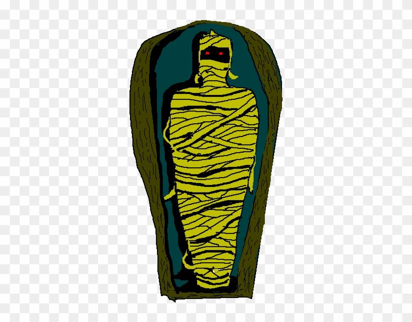 Egyptian Mummy Clipart - Illustration #103007