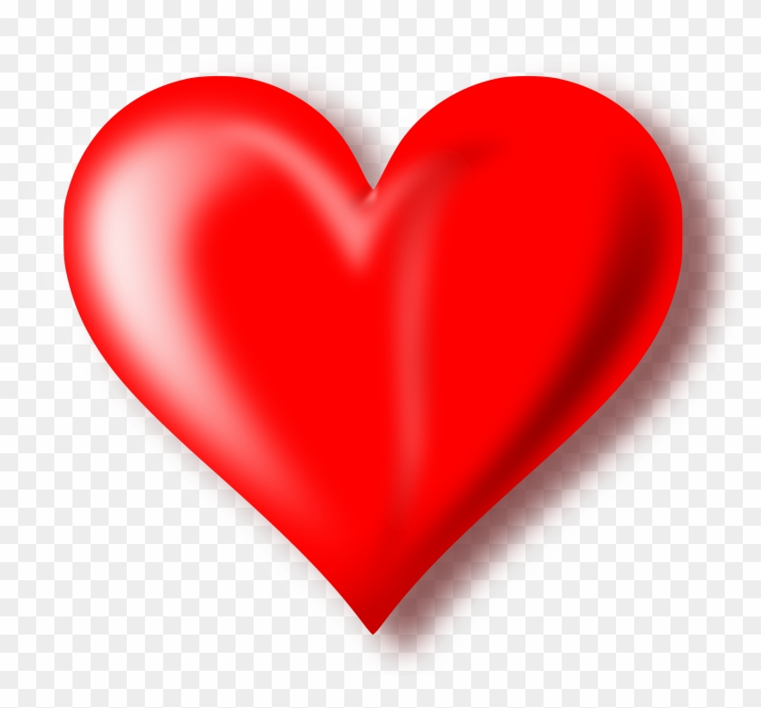 Heart Clipart Images - Red Heart With Transparent Background #103055