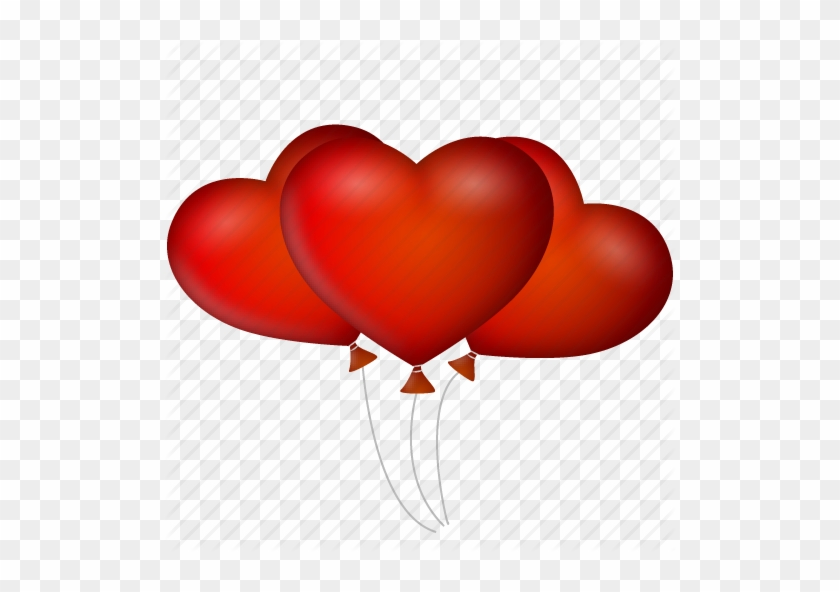 Balloons, Date, Event, Heart, Hearts, Like, Love, Valentine - Icon #103074