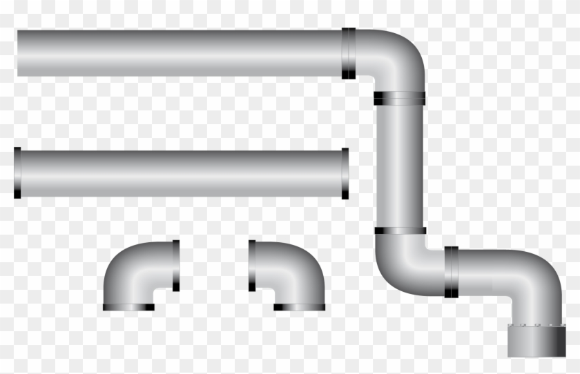 Water Pipe Clip Art - Pipe Vector #103106