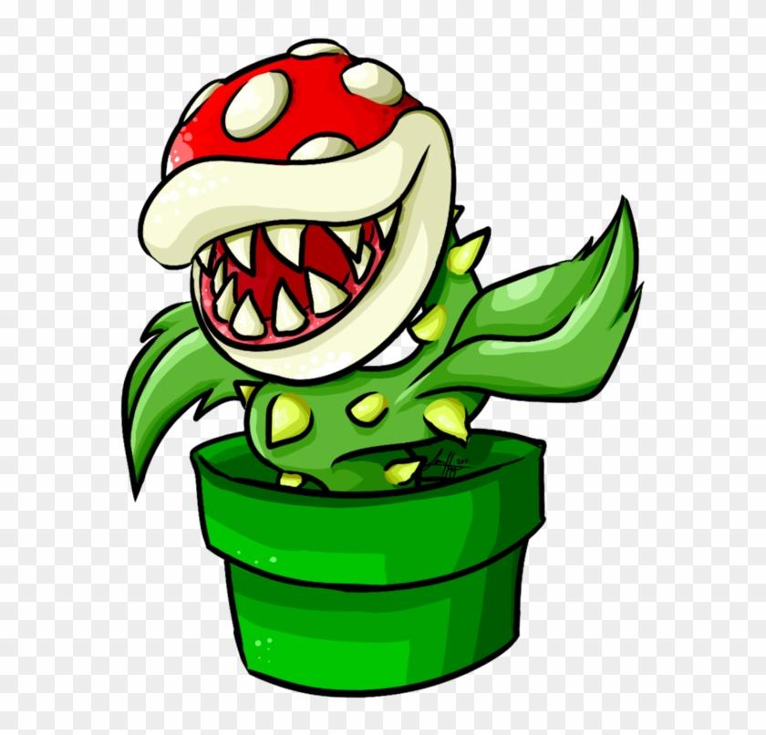 Pipe Piranha By Baetrix - Stickers Telegram Mario #103115