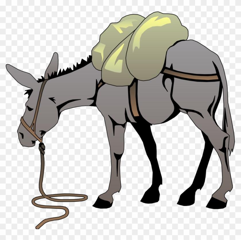 Donkey Clipart Graphics - Donkey Clip Art #103121