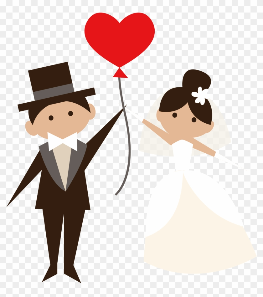 Wedding Clipart Png Image 02 - Bride And Groom Clipart Png #103179