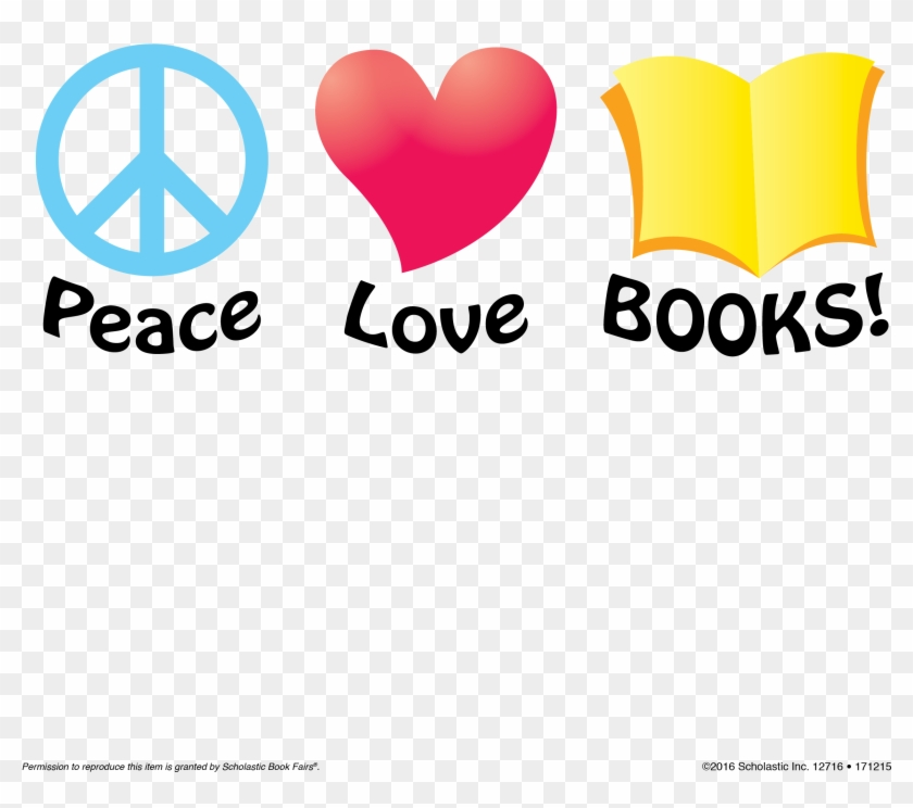 Book Clipart Love A Peace Sign Free Transparent Png Clipart