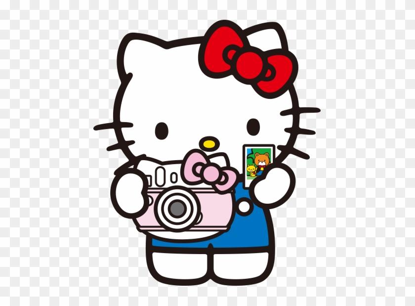 Hello Kitty Cartoon Clip Art - Hello Kitty With Camera #103233