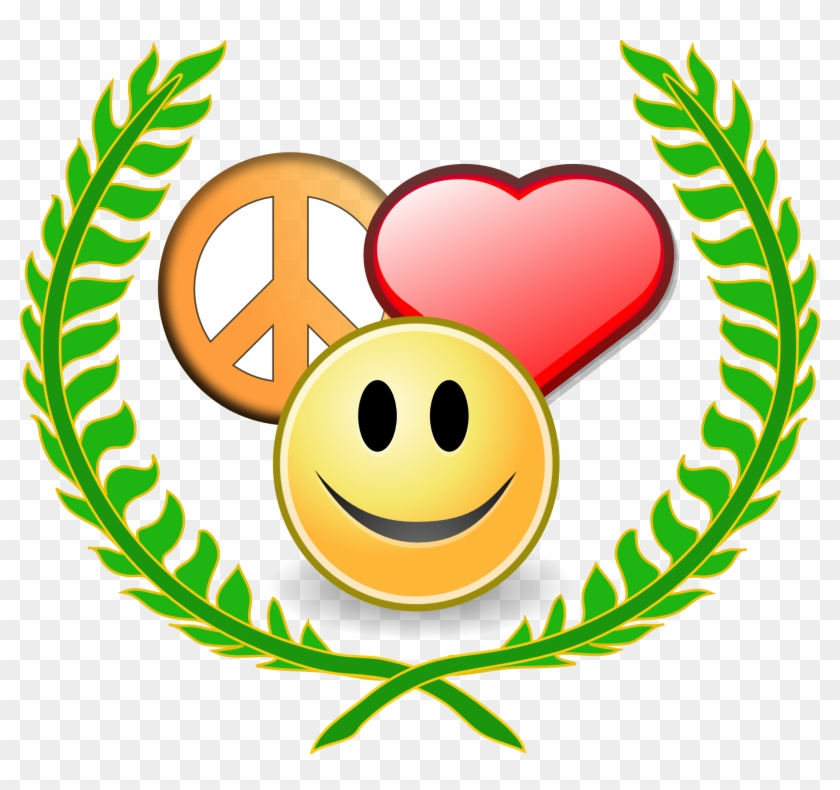 Peaceful Christmas Cliparts - Peace Love And Understanding #103238
