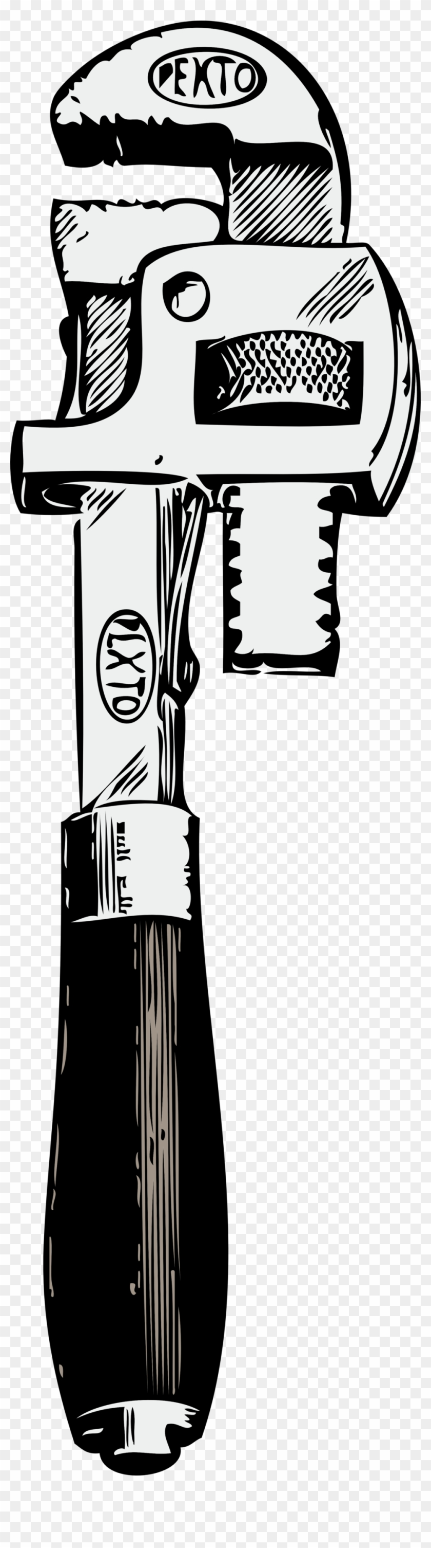 Pipe Wrench - Pipe Wrench Clipart #103243