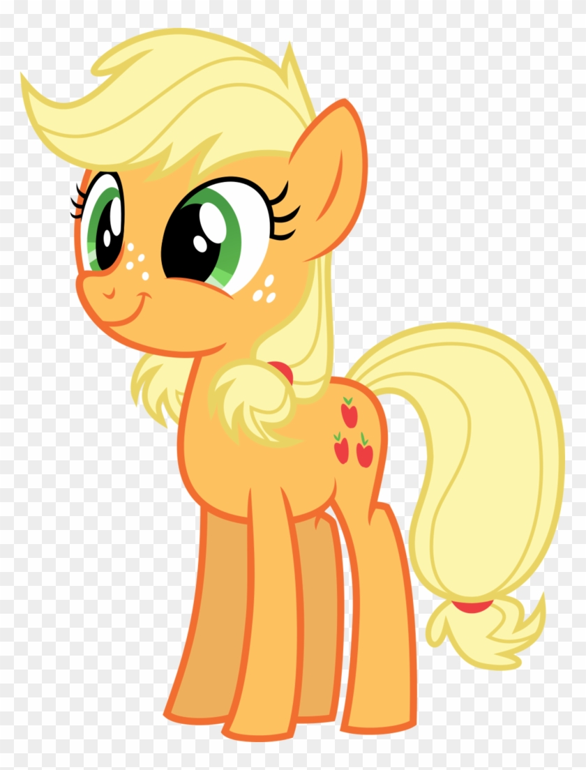 Rustle-rose, Cute, Double Mane, Earth Pony, Female, - Applejack Looking At You #544779