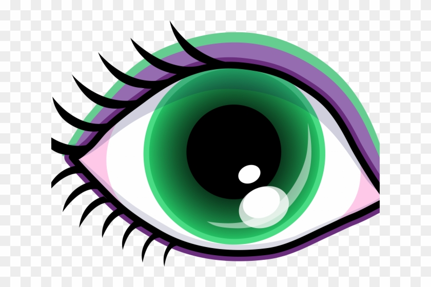 Free Eyeball Clipart - Big Eye Clip Art #545150