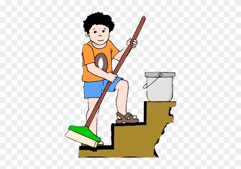 To Sign Up - Brother Doing Household Chores Clipart #545187