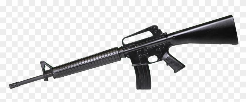 Pin Crossed M16 Clip Art - Weapons Of Fortnite Png #545217