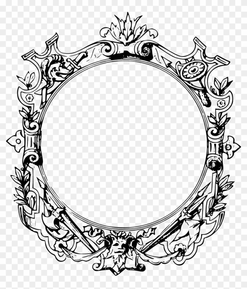 Ornate Frame - Filigree Frame Png - Free Transparent PNG Clipart ...