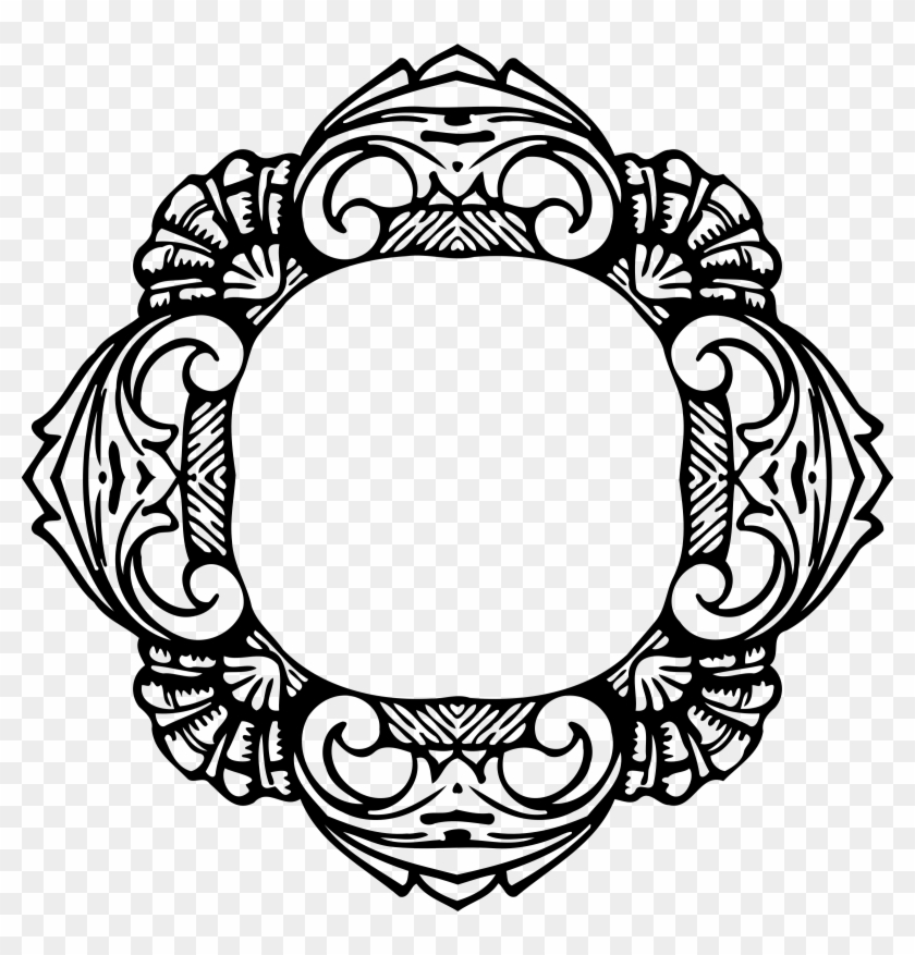 Big Image - Free Pic Vector Round Frame - Free Transparent PNG ...