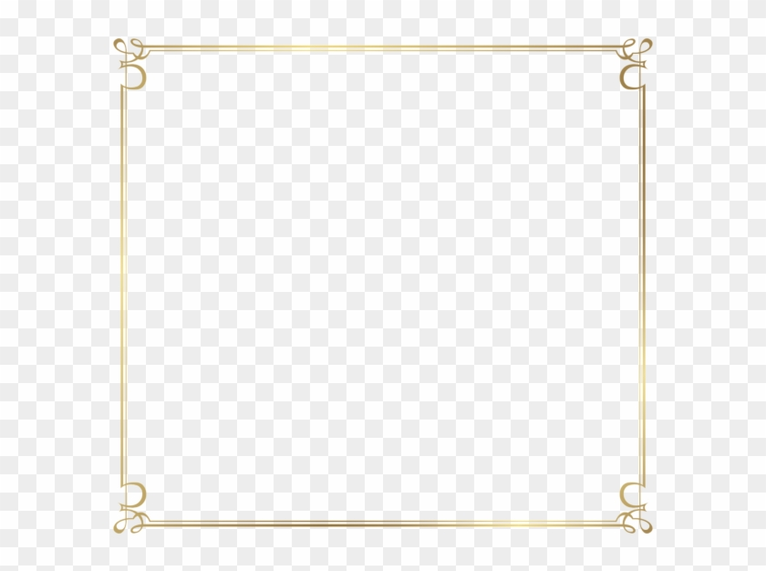 Decorative Frame Border Png Image - Decorative Frame Border Png #546048