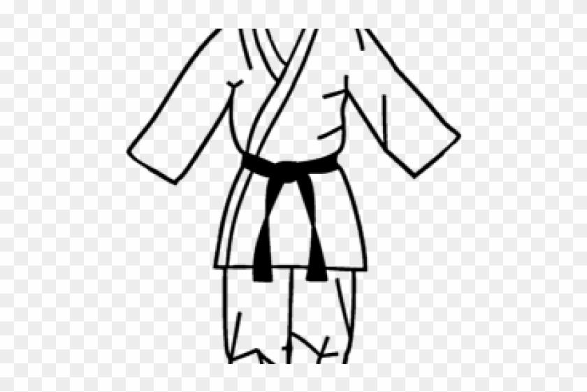 Martial Arts Clipart Karate Gi Martial Arts Uniform Clipart Free Transparent Png Clipart Images Download