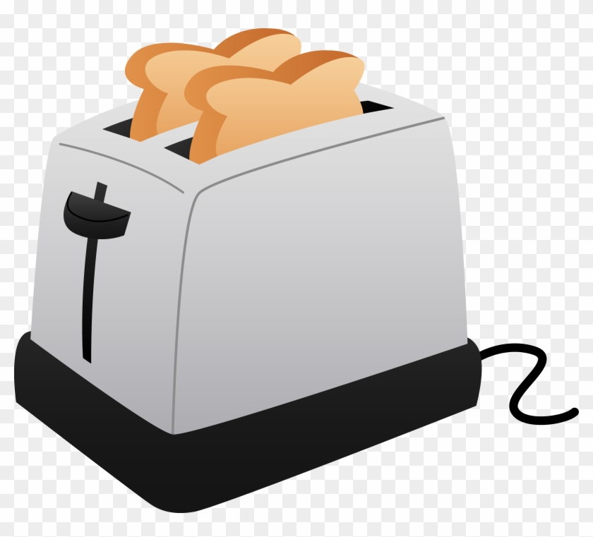 Toaster And Slices Of Toast - Toasters Clipart #546983