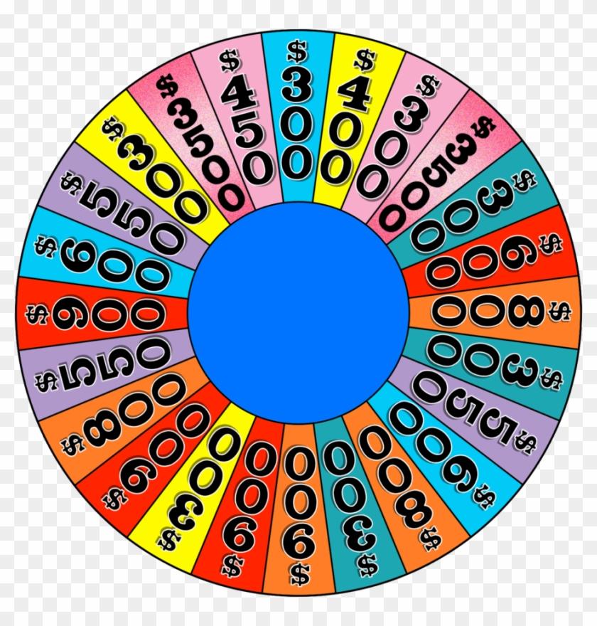 Roda A Roda Intro Wheel By Wheelgenius - Wheel Of Fortune Board Game #547214