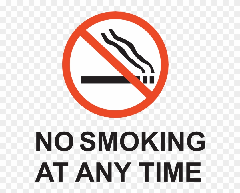 graphic about Free Printable No Smoking Signs named Cigarette smoking Indications In direction of Print - Absolutely free Clear PNG Clipart Visuals