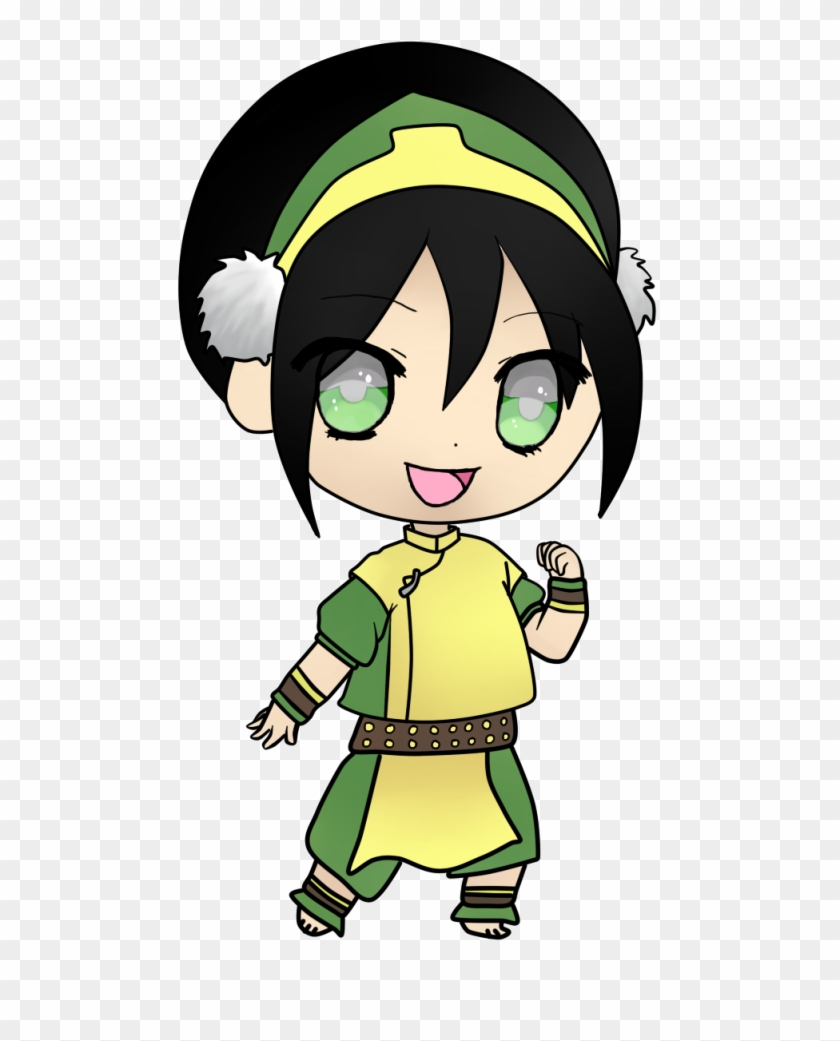 Chibi Toph Beifong By Doodle-dream - Avatar The Last Airbender Fan #547682