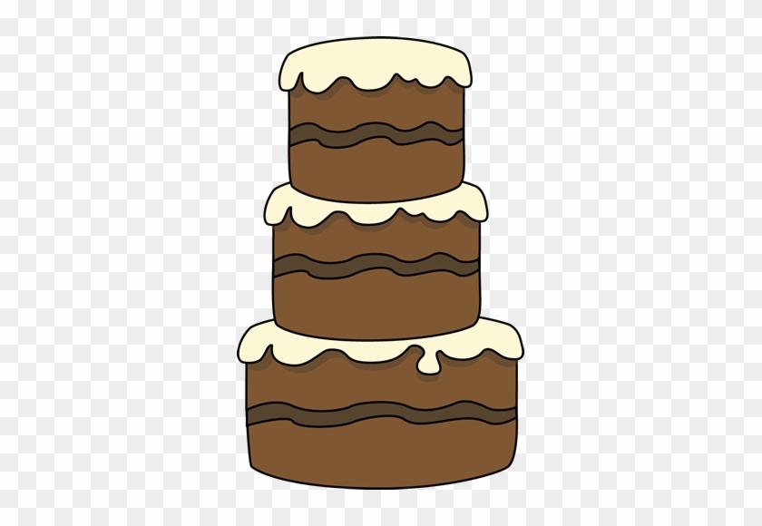 Big Cake Clip Art - Big Birthday Cake Clipart #547724