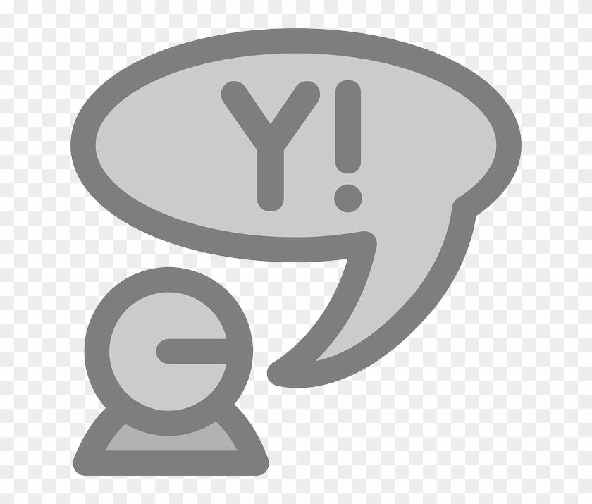 Icon Flat, Theme, Action, Yahoo, Icon - Yahoo! Messenger #548008
