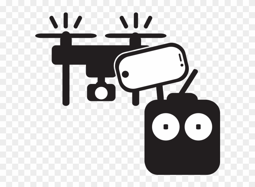 Download Drone Icon Freebies - Control Drone Logo Png #548075