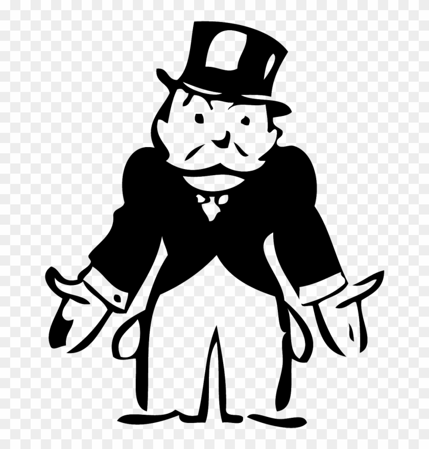 Image result for monopoly man broke