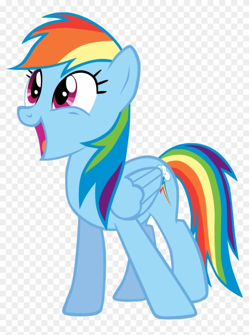 Rainbowdash Craves Cid - Rainbow Dash Is Surprised #549231