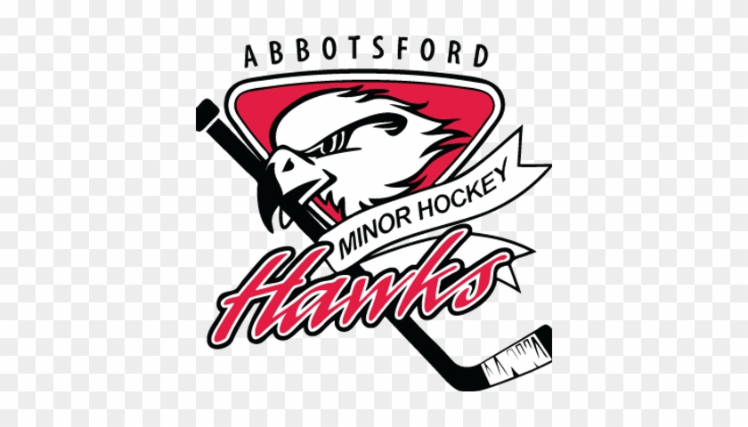 Abbotsford Hawks - Abbotsford Minor Hockey Logo #549600