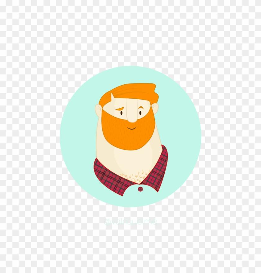 Lumberjack Face - Cartoon #550098