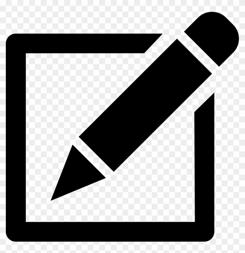 Edit Pencil Write Writing Save Comments - Paper And Pen Icon #550416