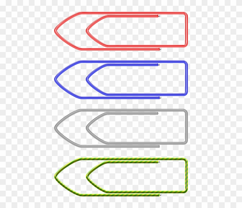Education, Paper, Paperclip, Office, Pin, Clips - Paper Clip #550632