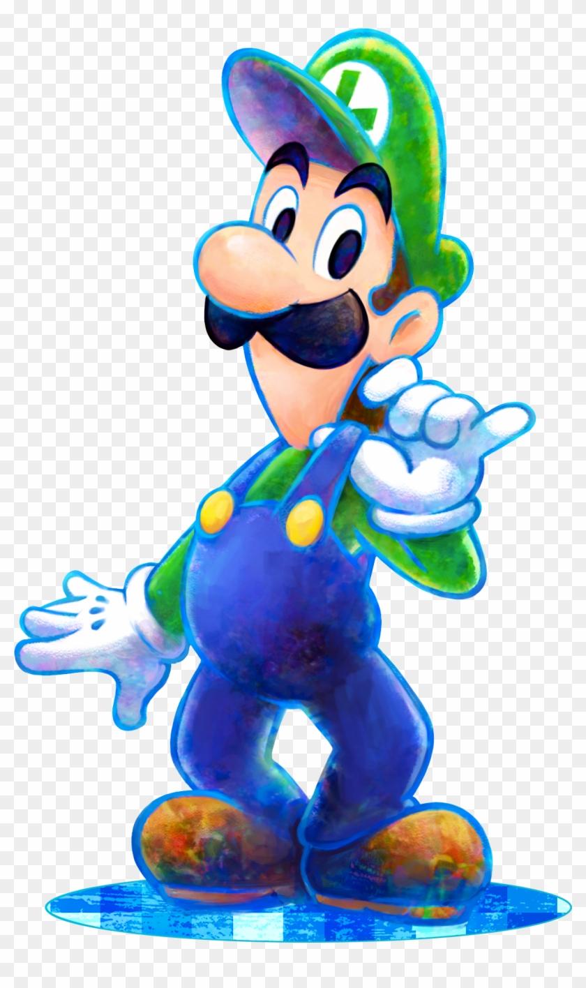 Mario Luigi Dream Team Mario And Luigi Dream Team Luigi Free