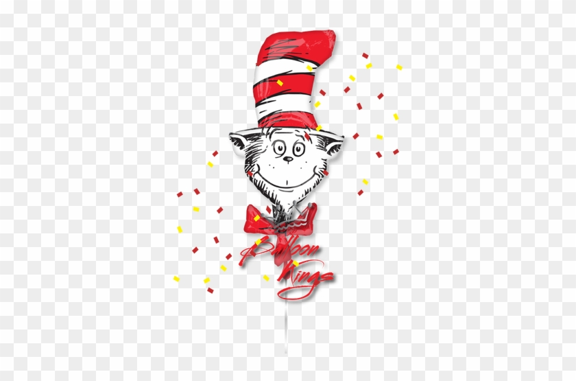 Dr Seuss Cat - Dr Seuss Birthday Party Balloon Decoration Kit #551056