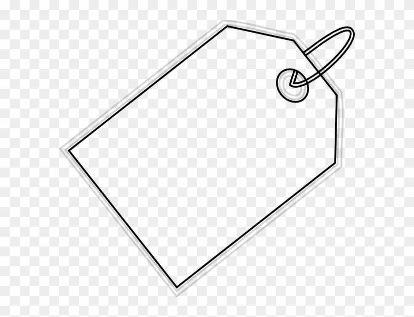 Price Tag Free Content Clip Art - Black - Label Cliparts Transparent PNG
