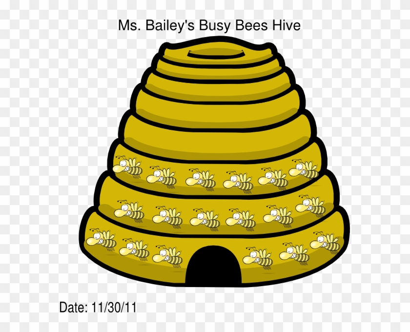 Busy Bees Hive Clip Art At Clipart Library Buzzing Bee Birthday