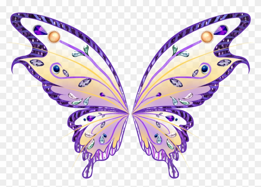 Wings Fairy Clipart - Fairy Wings Png #552385