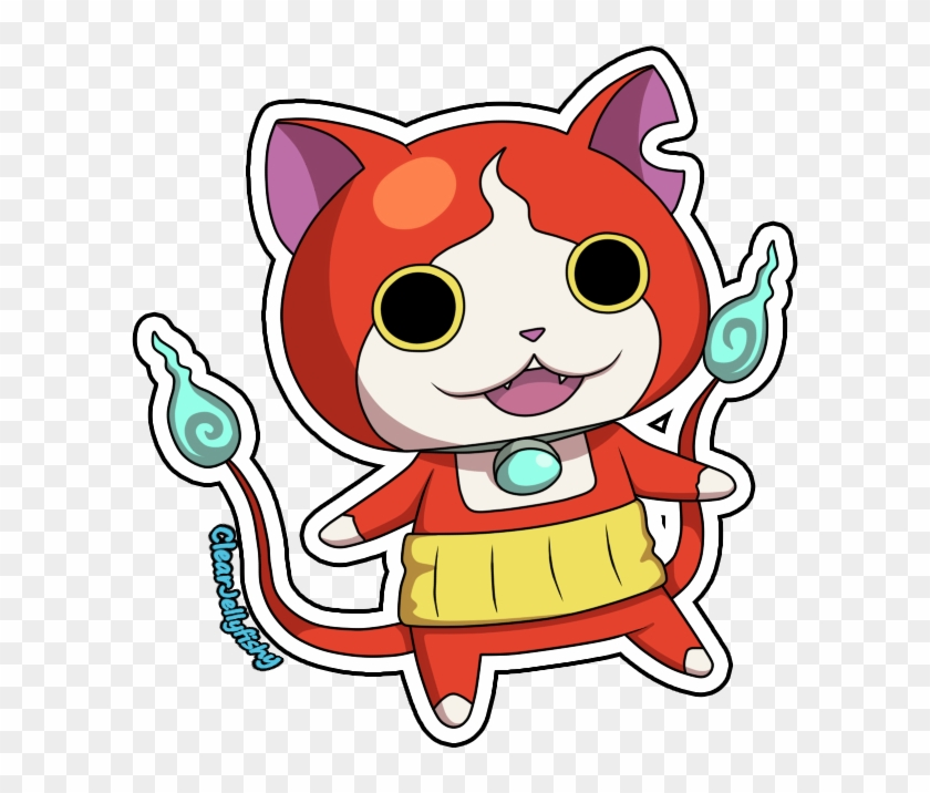 Jibanyan By Setsurachii Free Printable Colouring Pages Yokai Watch Jibanyan Free Transparent Png Clipart Images Download