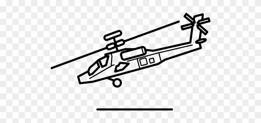 Helicoptero Apache Para Colorear - Free Transparent PNG Clipart ...