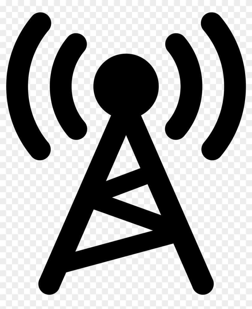 Today's Hit Music - Radio Tower Icon Png #553506