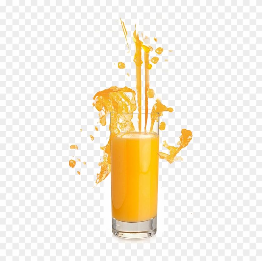 Powerful Beverage Orange Juice Splash In Glass - 充電式ニッケル水素電池 Rechargeable Juice 単3形 2400mah 4本セット #553888