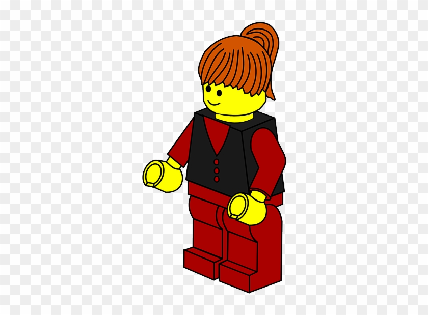 Lego Man Woman Robot Games Toys Town Business Lego Clipart