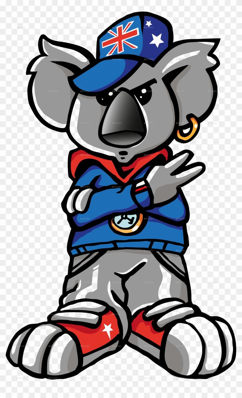 Koala Rap Cartoon - Cartoon Rap Png #556577