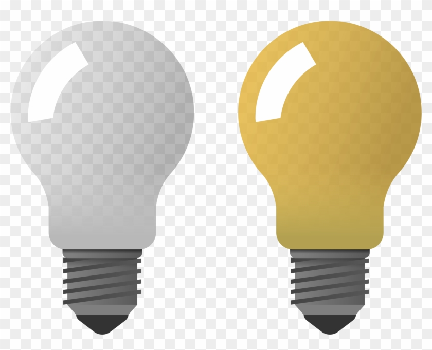 Big Image Light Bulb On Off Png Free Transparent Png Clipart