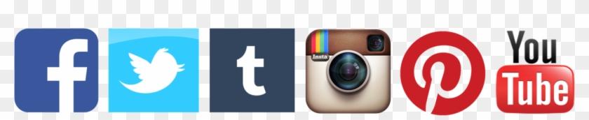 Social Media - Twitter Instagram Facebook Logo #556912