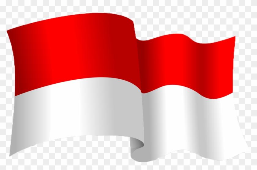 Bendera Merah Putih Berkibar Clipart Bendera Indonesia Free Transparent Png Clipart Images Download