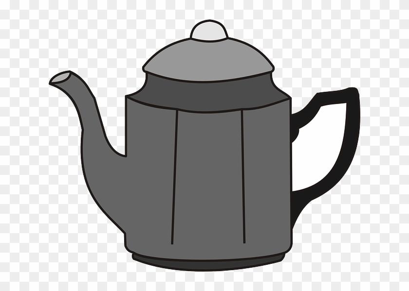 Coffee Pot, Tea Pot, Beverage, Coffee, Tea, Kettle - Clipart Coffee Pot #558770